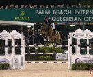 McLain Ward and HH Azur won the $380,000 Suncast® Grand Prix CSI 5* at WEF 7. Photo by Sportfot