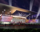 A conceptual drawing of the expanded entertainment venue at Woodbine Racetrack. Image courtesy of BBB Architects