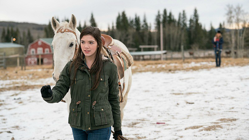 Alisha Newton on Heartland