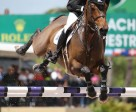 Tiffany Foster and Victor won the $35,000 Ruby et Violette WEF Challenge Cup Round 12. Photo by Sportfot