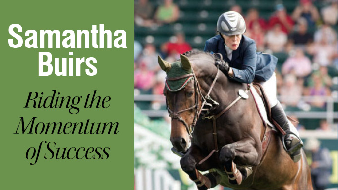 Thumbnail for Samantha Buirs: Riding the Momentum of Success