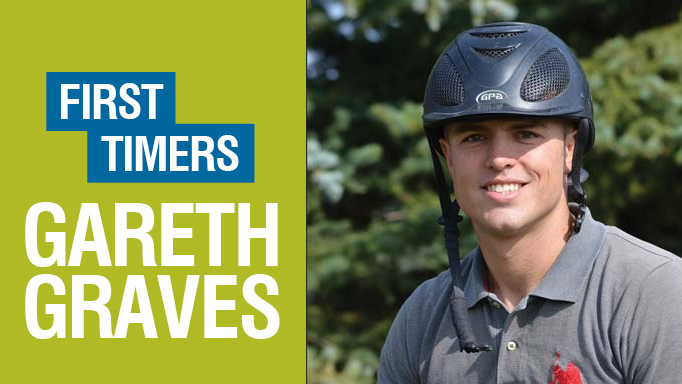 Thumbnail for First Timers: Gareth Graves