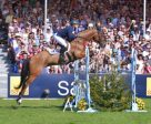 Nobody does it better: the legendary Michael Jung (GER), riding La Biosthetique Sam FBW, becomes the first German rider to win the Mitsubishi Motors Badminton Horse Trials (GBR), fourth leg of the FEI Classics™ 2015/2016, and only the second rider to win the Rolex Grand Slam. Photo by Sebastian Oakley/FEI