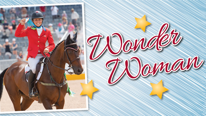 Thumbnail for Wonder Woman, Jessica Phoenix on Canadian Equestrian Team