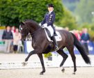 Germany's Sanneke Rothenberger and Deveraux OLD claimed a hat-trick of gold medals at the inaugural FEI U25 Dressage Championships 2016 in Hagen (GER). Photo by FEI/Digi Shots
