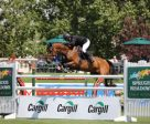 Alberto Michan and Gigolo van de Broekkant won the Cargill Cup at Spruce Meadows. Photos by Spruce Meadows Media Services