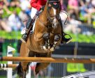 Eric Lamaze and Fine Lady 5 claim Olympic bronze medal in show jumping. Photo by Arnd Bronkhorst
