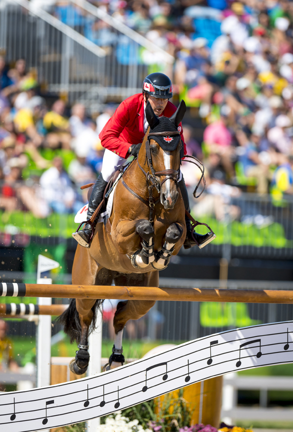 Thumbnail for Eric Lamaze  CAN riding Fine lady 5