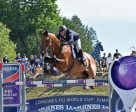 Jonathan McCrea and Special Lux won the first leg of the Longines FEI World Cup™ Jumping North American League at Bromont International. Photo by Tom von kap-herr