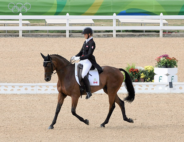 Thumbnail for Howard and Riddle Master Wrap Up Eventing Dressage for Canadian Team