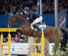 Ireland's Gerard O'Neill and the Irish Sport Horse Killossery Kaiden produced the only double-clear in today's final competition to win the 6-Year-Old title at the FEI World Breeding Jumping Championships for Young Horses 2016 at Lanaken, Belgium. Photo by Dirk Caremans/FEI