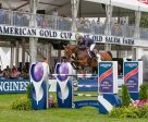 The United States' Olympic medallist Kent Farrington and Gazelle claim the win in the $216,000 Longines FEI World Cup™ Jumping New York. Photo by FEI/Anthony Trollop