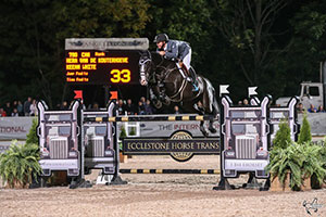 Keean White claimed Angelstone's Triple Crown. Photo by Ben Radvanyi Photography