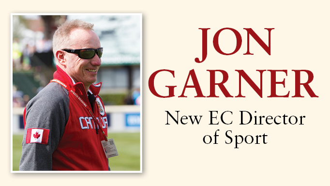 Thumbnail for John Garner: New EC Director of Sport