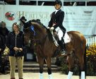 Jill Irving and Degas 12 won both the Grand Prix and Grand Prix Special at Dressage at Devon.