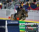 Ireland's Darrah Kenny and Charly Brown topped the $35,000 Brickenden Trophy at the CSI4*-W Royal Horse Show on Thursday, November 10, in Toronto, ON. Photo by Ben Radvanyi Photography
