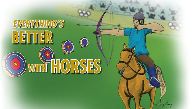 Thumbnail for Everything is Better with Horses