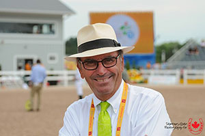World-class course designer Michel Vaillancourt was named the 2016 Jump Canada Official of the Year. Photo by Starting Gate Communications