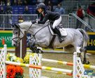 Veronica Bot of Burlington, ON, won the $10,000 McKee-Powell Equine Services Junior/Amateur Jumper Royal Stake on Sunday, November 6 at the Royal Horse Show in Toronto, ON. Photo by Jump Media