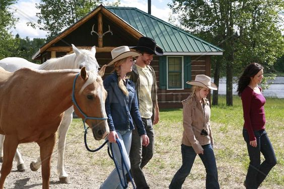 CBC Heartland, walking horses, Amy, Michelle Morgan