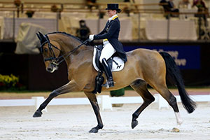 Isabell Werth (GER) and Emilio, winners of the VIAN WDM Grand Prix presented by Jiva Hill Stables. Photo by scoopdyga.com