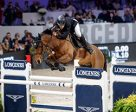 Spain's Eduardo Alvarez Aznar galloped to victory with Rokfeller de Pleville Bois Margot in today's 11th leg of the Longines FEI World Cup™ Jumping 2016/2017 Western European League in Zurich, Switzerland. Photo by Stefan Lafrentz/FEI