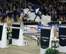 Germany's Daniel Deusser jumps to the top of the Longines rankings. Photo by FEI/Dirk Caremans