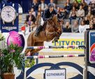 Henrik von Eckermann brought the Longines FEI World Cup™ Jumping 2017 Western European League to a fairytale finish on home ground in Gothenburg (SWE) today when snatching victory with a breath-taking performance from the 11-year-old mare, Mary Lou. Photo by Stefan Lafrentz/FEI
