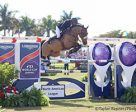 Egypt's Nayel Nasser and Lordan won the $216,000 Longines FEI World Cup™ Jumping Wellington CSI3*-W, presented by SOVARO®, on Sunday to conclude the 2017 CP Palm Beach Masters. Photo by Taylor Renner/Phelps Sports