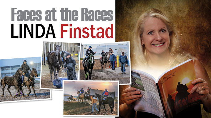 Thumbnail for Faces at the Races: Linda Finstad