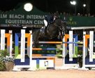 Jose Roberto Reynoso and Galip won the $130,000 Horseware Ireland Grand Prix CSI 3* at the Winter Equestrian Festival. Photo by Sportfot