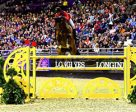 McLain Ward and HH Azur won the FEI World Cup™ Jumping Final I Speed Round. Photo by Lili Weik