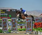 Tamie Phillips and Cristar took second place in the AIG $1 Million Grand Prix at HITS Desert Horse Park. Photo by ESI Photography