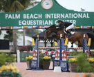 Daniel Coyle and Farona won the $20,000 Spy Coast Farm Seven-Year-Old Developing Jumper Classic at WEF. Photo by Sportfot