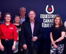 The newly-established Equestrian Canada (EC) Driving Committee conducted a two-day meeting at the EC national office in Ottawa, ON from May 2-3, 2017 in order to connect and collaborate on strategic direction and priorities to support the sport of driving in Canada. L to R: EC CEO, Eva Havaris, Ellen Hockley (BC), Patricia Carley (AB), Diane Goyette (QC), Dave Sim (ON), Michel Lapierre (QC), Elisa Marocchi (BC), François Bergeron (QC).