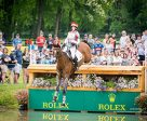 Selena O'Hanlon was Canada's top-placed athlete aboard Foxwood High at the renowned Rolex Kentucky Three-Day Event, held April 26-29, 2017 in Lexington, KY. Photo by Carla Duran for Shannon Brinkman Photography