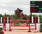 Ireland's Daniel Coyle riding Tienna won the $86,000 CSI2* Jumper Classic, presented by Case IH, on Saturday, May 27, at the CSI2* Classic at Palgrave Phase II in Caledon, ON. Photo by Ben Radvanyi Photography