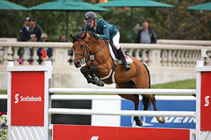 Daniel Coyle and Cita won the Scotiabank Cup at the Spruce Meadows Continental. Photo by Spruce Meadows Media Services