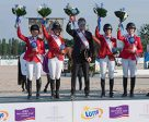 Team USA won the fifth leg of the FEI Nations Cup™ Jumping Europe Division 2 series in Sopot, Poland