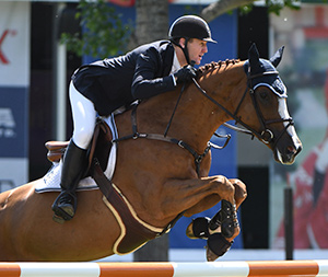 McLain Ward won the ROADTREK Cip 1.50m at the Spruce Meadows National. Photo by Spruce Meadows Media Services