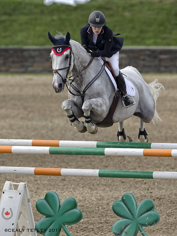 Thumbnail for Canadians Jump to Two Team Silver Medals at NAJYRC