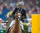 Canada's Eric Lamaze won the €100,000 Turkish Airlines Prize of Europe riding his 2016 Rio Olympic bronze medal mount, Fine Lady 5, owned by Artisan Farms and Torrey Pines Stable, on July 19 in Aachen, Germany. Photo by Arnd Bronkhorst Photography