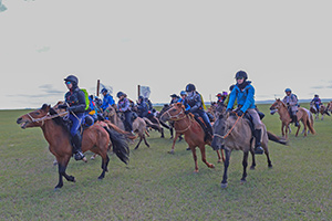 Thumbnail for 42 Competitors, Including 1 Canadian, Tackle 9th Mongol Derby