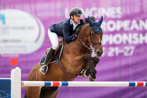 It's fingers and toes crossed for the host nation who hold the lead going into the final day of the Jumping team competition at the Longines FEI European Championships 2017 in Gothenburg (SWE) tomorrow, after today's brilliant last-to-go clear round from the Olympic silver medal-winning partnership of Peder Fredricson and H&M All In. Photo by FEI/Claes Jakobsson