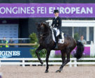 Helen Langehanenberg and Damsey FRH produced the top score to put Team Germany in the driving seat on the first day of the Dressage Team competition at the Longines FEI European Championships 2017 in Gothenburg (SWE). Photo by FEI/Claes Jakobsson