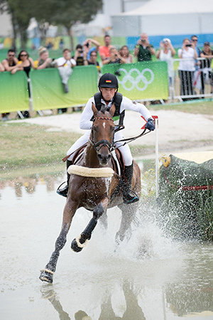 Double Olympic Champion and reigning three-time European Champion Michael Jung from Germany will be bidding for a record fourth individual title at the 2017 FEI European Eventing Championships, Strzegom, Poland. Photo by FEI/Jon Stroud