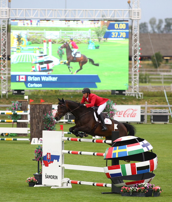 Thumbnail for Canadian Show Jumping Team Seventh in Samorin
