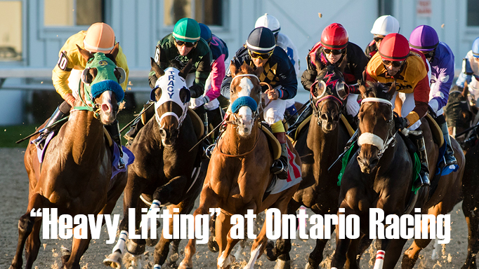 Thumbnail for Heavy Lifting at Ontario Racing