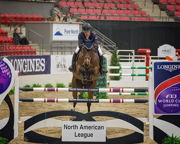 Connor Swail and Flower winners of the $35,000 ACTC Cup presented by Hotel Arts. Photo by Amanda Ubell Photography