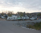 One of several on-site RV/camping spots.